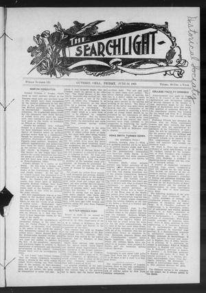 Primary view of object titled 'The Searchlight (Guthrie, Okla.), No. 529, Ed. 1 Friday, June 12, 1908'.
