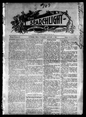 Primary view of object titled 'The Searchlight (Guthrie, Okla.), No. 452, Ed. 1 Tuesday, January 1, 1907'.