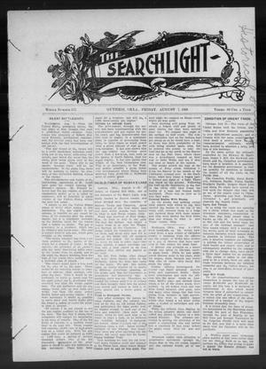 Primary view of object titled 'The Searchlight (Guthrie, Okla.), No. 537, Ed. 1 Friday, August 7, 1908'.