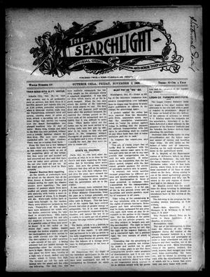 Primary view of object titled 'The Searchlight (Guthrie, Okla.), No. 436, Ed. 1 Friday, November 2, 1906'.