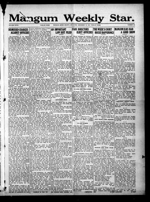 Primary view of Mangum Weekly Star. (Mangum, Okla.), Vol. 28, No. 26, Ed. 1 Thursday, December 16, 1915