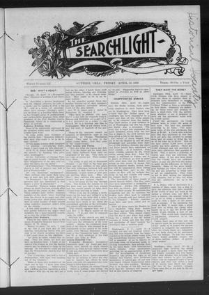 Primary view of object titled 'The Searchlight (Guthrie, Okla.), No. 522, Ed. 1 Friday, April 24, 1908'.