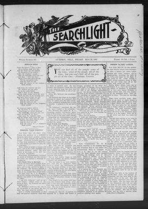 Primary view of object titled 'The Searchlight (Guthrie, Okla.), No. 527, Ed. 1 Friday, May 29, 1908'.