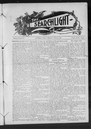 Primary view of object titled 'The Searchlight (Guthrie, Okla.), No. 536, Ed. 1 Friday, July 31, 1908'.