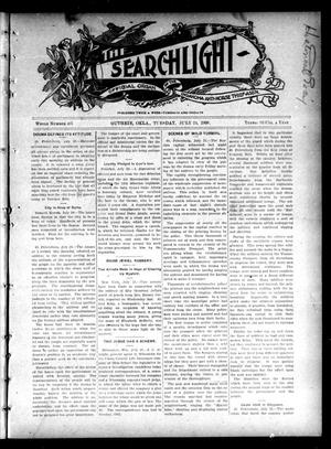 Primary view of object titled 'The Searchlight (Guthrie, Okla.), No. 407, Ed. 1 Tuesday, July 24, 1906'.