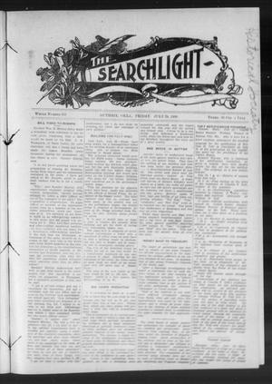 Primary view of object titled 'The Searchlight (Guthrie, Okla.), No. 535, Ed. 1 Friday, July 24, 1908'.