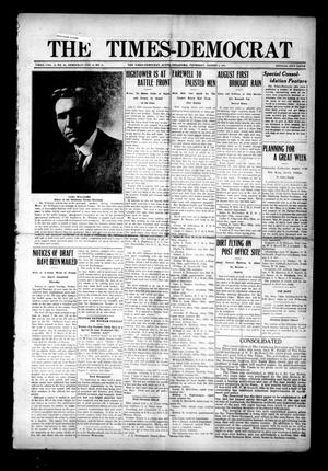 Primary view of object titled 'The Times-Democrat (Altus, Okla.), Vol. 15, No. 30, Ed. 1 Thursday, August 2, 1917'.