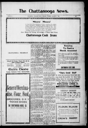 Primary view of object titled 'The Chattanooga News. (Chattanooga, Okla.), Vol. 14, Ed. 1 Thursday, January 29, 1920'.