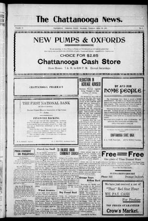 Primary view of object titled 'The Chattanooga News. (Chattanooga, Okla.), Vol. 16, No. 9, Ed. 1 Thursday, April 28, 1921'.