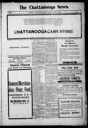 Primary view of object titled 'The Chattanooga News. (Chattanooga, Okla.), Vol. 14, Ed. 1 Thursday, January 15, 1920'.