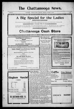 Primary view of object titled 'The Chattanooga News. (Chattanooga, Okla.), Vol. 14, Ed. 1 Thursday, November 11, 1920'.