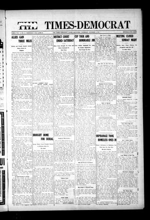 Primary view of object titled 'The Times-Democrat (Altus, Okla.), Vol. 15, No. 41, Ed. 1 Thursday, October 11, 1917'.