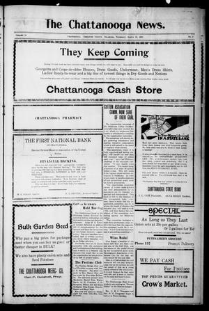Primary view of object titled 'The Chattanooga News. (Chattanooga, Okla.), Vol. 16, No. 2, Ed. 1 Thursday, March 10, 1921'.