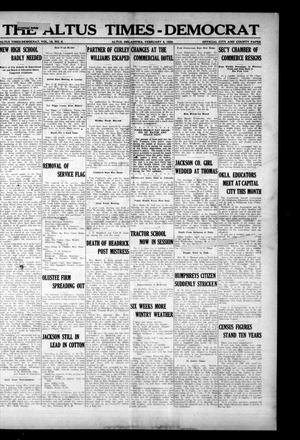 Primary view of object titled 'The Altus Times-Democrat (Altus, Okla.), Vol. 18, No. 6, Ed. 1 Thursday, February 5, 1920'.