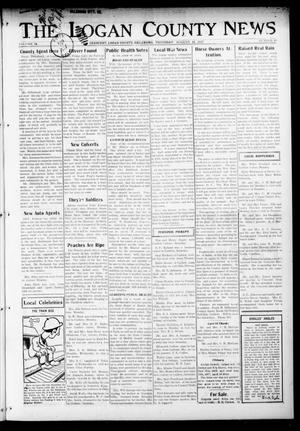 Primary view of object titled 'The Logan County News (Crescent, Okla.), Vol. 14, No. 40, Ed. 1 Thursday, August 16, 1917'.