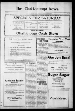 Primary view of object titled 'The Chattanooga News. (Chattanooga, Okla.), Vol. 17, No. 1, Ed. 1 Thursday, March 2, 1922'.