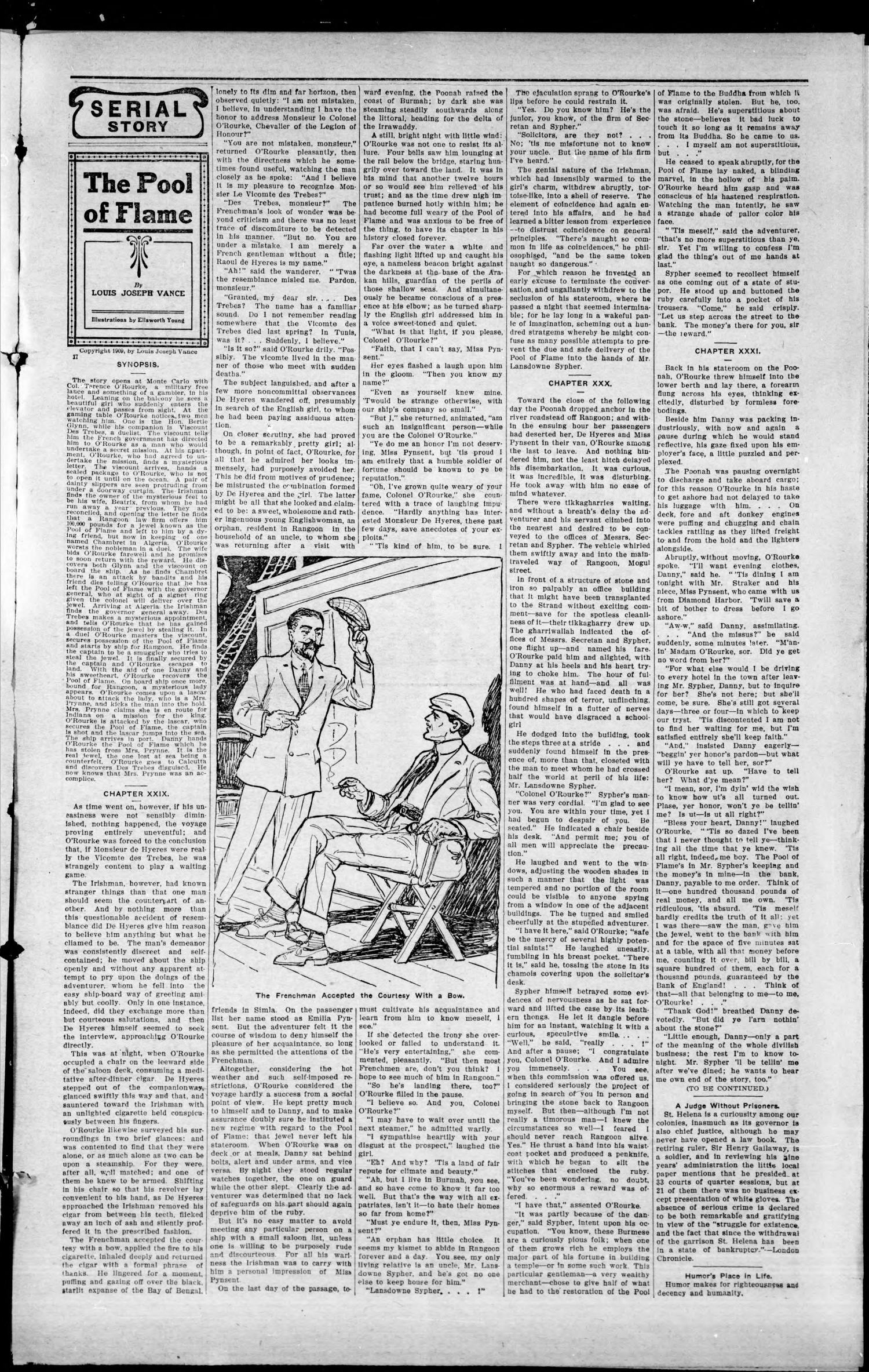 The Foraker Sun. (Foraker, Okla.), Vol. 7, No. 10, Ed. 1 Friday, June 28, 1912                                                                                                      [Sequence #]: 3 of 8