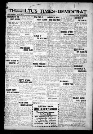 Primary view of object titled 'The Altus Times-Democrat (Altus, Okla.), Vol. 18, No. 1, Ed. 1 Thursday, January 1, 1920'.