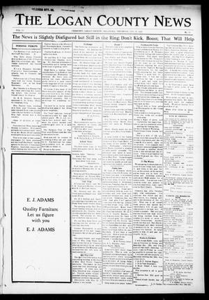 Primary view of object titled 'The Logan County News (Crescent, Okla.), Vol. 14, No. 10, Ed. 1 Thursday, January 11, 1917'.