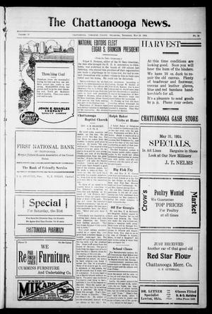 Primary view of object titled 'The Chattanooga News. (Chattanooga, Okla.), Vol. 19, No. 14, Ed. 1 Thursday, May 29, 1924'.