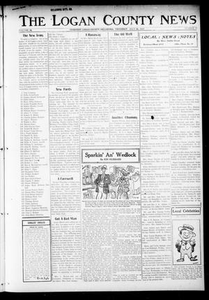 Primary view of object titled 'The Logan County News (Crescent, Okla.), Vol. 14, No. 37, Ed. 1 Thursday, July 26, 1917'.