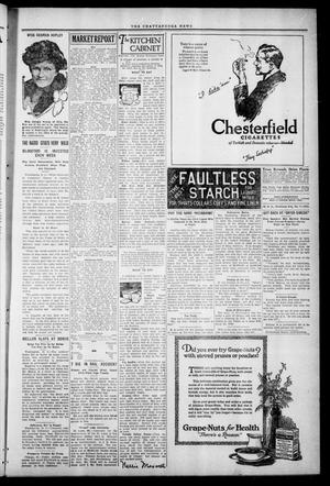 Primary view of object titled 'The Chattanooga News. (Chattanooga, Okla.), Vol. 17, No. 6, Ed. 1 Thursday, April 6, 1922'.
