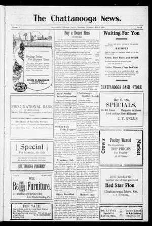 Primary view of object titled 'The Chattanooga News. (Chattanooga, Okla.), Vol. 19, No. 12, Ed. 1 Thursday, May 15, 1924'.