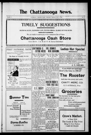 Primary view of object titled 'The Chattanooga News. (Chattanooga, Okla.), Vol. 17, No. 15, Ed. 1 Thursday, June 8, 1922'.