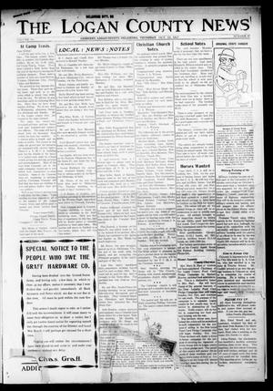 Primary view of object titled 'The Logan County News (Crescent, Okla.), Vol. 14, No. 47, Ed. 1 Thursday, October 11, 1917'.