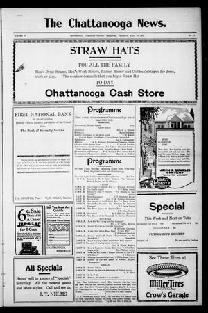 Primary view of object titled 'The Chattanooga News. (Chattanooga, Okla.), Vol. 18, No. 8, Ed. 1 Thursday, April 19, 1923'.