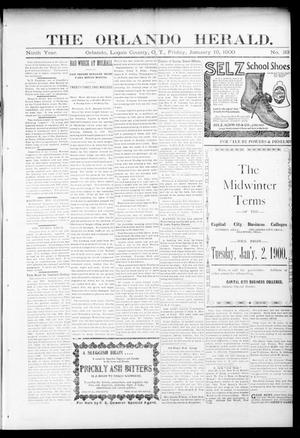 Primary view of object titled 'The Orlando Herald. (Orlando, Okla. Terr.), Vol. 8, No. 33, Ed. 1 Friday, January 19, 1900'.