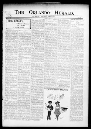 Primary view of object titled 'The Orlando Herald. (Orlando, Okla. Terr.), Vol. 7, No. 52, Ed. 1 Thursday, June 1, 1899'.