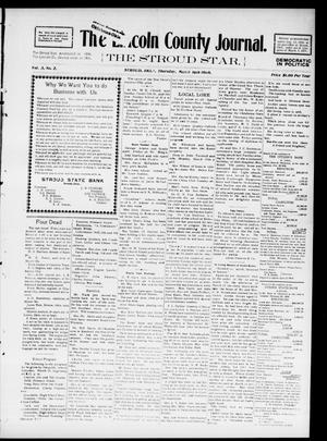 Primary view of object titled 'The Lincoln County Journal. The Stroud Star. (Stroud, Okla.), Vol. 3, No. 2, Ed. 1 Thursday, March 19, 1908'.
