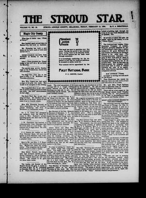 Primary view of object titled 'The Stroud Star. (Stroud, Okla.), Vol. 6, No. 50, Ed. 1 Friday, February 12, 1904'.