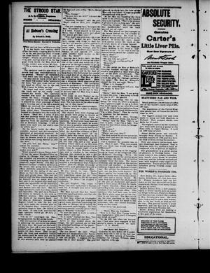 Primary view of object titled 'The Stroud Star. (Stroud, Okla.), Vol. 4, No. 24, Ed. 1 Friday, August 16, 1901'.