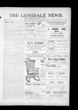 Primary view of object titled 'The Longdale News. (Longdale, Okla.), Vol. 7, No. 2, Ed. 1 Friday, June 7, 1907'.
