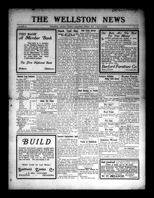 Primary view of object titled 'The Wellston News (Wellston, Okla.), Vol. 24, No. 19, Ed. 1 Friday, May 7, 1915'.