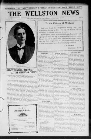 Primary view of The Wellston News (Wellston, Okla.), Vol. 18, No. 21, Ed. 1 Friday, May 21, 1909