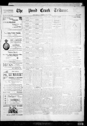 Primary view of object titled 'The Pond Creek Tribune. (Pond Creek, Okla. Terr.), Vol. 1, No. 45, Ed. 1 Thursday, July 19, 1894'.