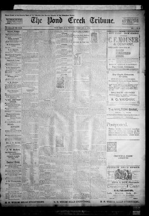 Primary view of object titled 'The Pond Creek Tribune. (Pond Creek, Okla. Terr.), Vol. 1, No. 24, Ed. 1 Thursday, February 22, 1894'.