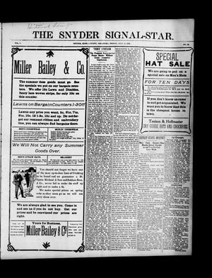 Primary view of object titled 'The Snyder Signal-Star. (Snyder, Okla.), Vol. 2, No. 33, Ed. 1 Friday, July 15, 1904'.