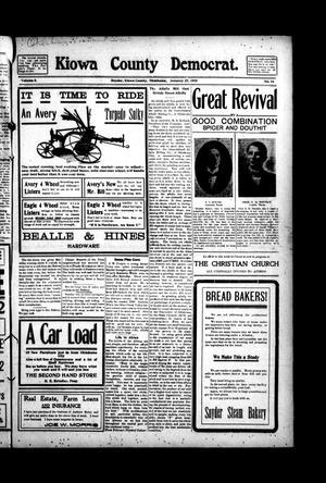 Primary view of Kiowa County Democrat. (Snyder, Okla.), Vol. 5, No. 14, Ed. 1 Thursday, January 27, 1910
