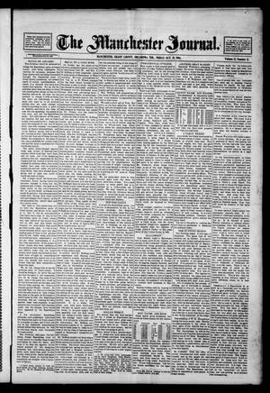 Primary view of object titled 'The Manchester Journal. (Manchester, Okla. Terr.), Vol. 12, No. 21, Ed. 1 Friday, October 28, 1904'.