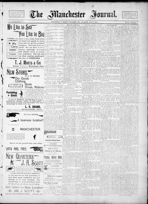 Primary view of object titled 'The Manchester Journal. (Manchester, Okla. Terr.), Vol. 2, No. 2, Ed. 1 Thursday, June 21, 1894'.