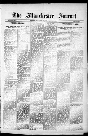 Primary view of object titled 'The Manchester Journal. (Manchester, Okla.), Vol. 17, No. 2, Ed. 1 Friday, June 11, 1909'.