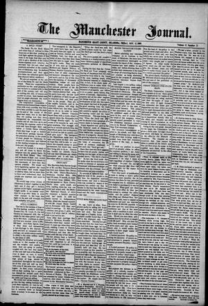 Primary view of object titled 'The Manchester Journal. (Manchester, Okla.), Vol. 17, No. 23, Ed. 1 Friday, November 12, 1909'.