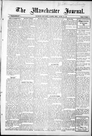 Primary view of object titled 'The Manchester Journal. (Manchester, Okla.), Vol. 18, No. 33, Ed. 1 Friday, January 20, 1911'.