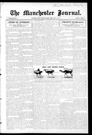 Primary view of object titled 'The Manchester Journal. (Manchester, Okla.), Vol. 23, No. 3, Ed. 1 Friday, June 18, 1915'.