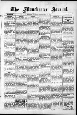 Primary view of object titled 'The Manchester Journal. (Manchester, Okla.), Vol. 18, No. 48, Ed. 1 Friday, May 5, 1911'.