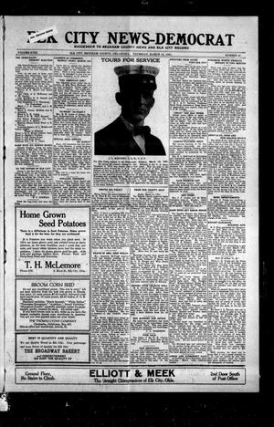 Primary view of object titled 'Elk City News-Democrat (Elk City, Okla.), Vol. 18, No. 45, Ed. 1 Thursday, March 10, 1921'.